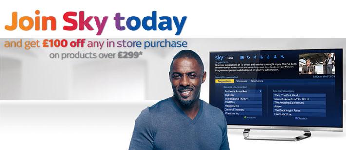 Sky TV Rewards Promotion