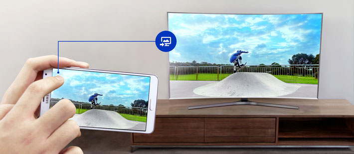 Samsung Smart TV Casting to TV
