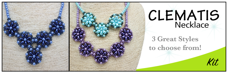 Clematis Necklace Kit