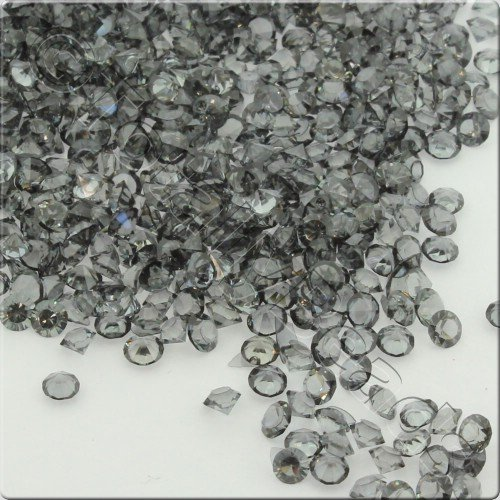 Resin Crystals 2mm - Black Diamond