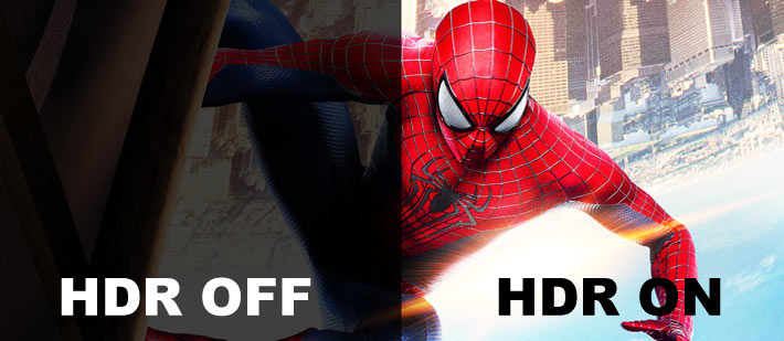 What is HDR with Spiderman