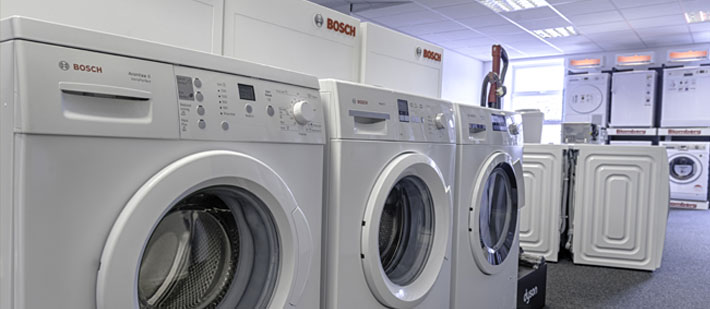 Bosch washers in our Bolton Manchester store
