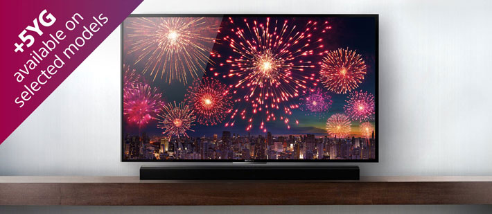 Promotions: Free Soundbar with Selected Sony 4K TVs