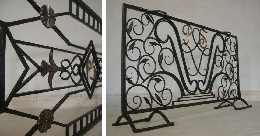 Fire screens by Calnan & Anhoj