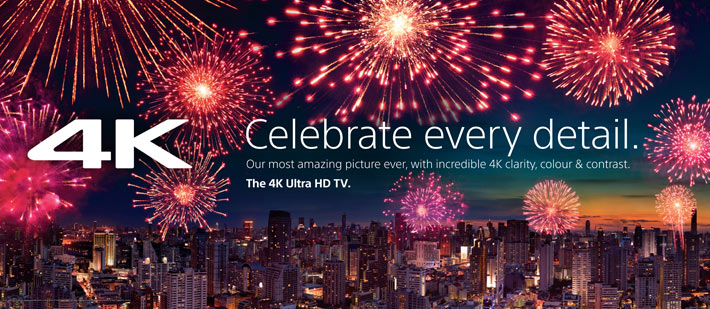 Tech News:  Celebrating the detail with Sony 4K UHD TVs
