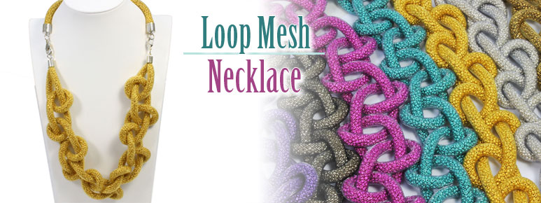 Loop Mesh Necklace