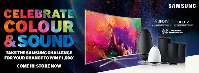 Samsung Colour & Sound Promotion
