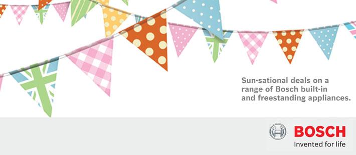 Bosch Kitchen Appliance Summer Savings