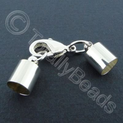 Kumihimo 7mm Barrel Lobster Clasp